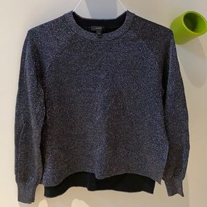 J.Crew Sparkly Sweater with side slits